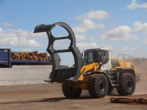 2.7 sqm capacity Unloading Fork - Ensign Forestry Attachments