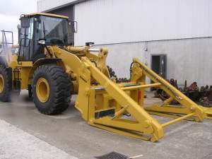 Ensign Pipe Handling Pallet Fork  - Ensign Forestry Attachments