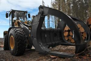 High-Lift TR2C Log Fork - Ensign Forestry Attachments