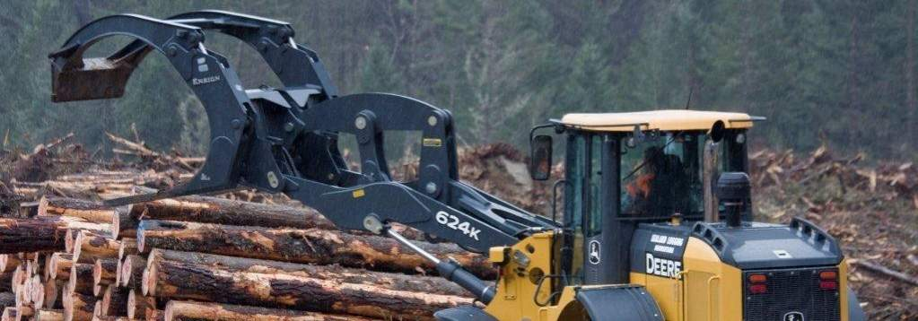 Log Forks Forestry Attachment