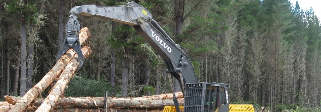 Rotating Grapple Forestry Attachment